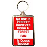 Nottingham Forest F.C - No One is Perfect Keyring