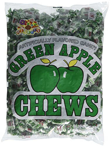 Albert's Chews Green Apple 240 Piece Bag