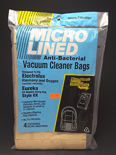 Electrolux Canister Oxygen/ Harmony/ Ergospace Vacuum  Bags