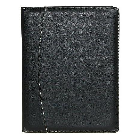 leather writing folio