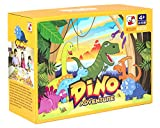 Dino Adventure Table top Board Game Trains Social Skills, Concentration and Focus