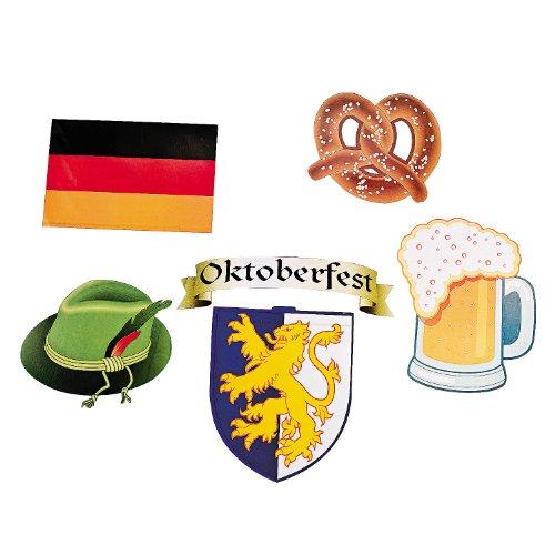 Oktoberfest Cutouts (12 Pack) 9 1/4