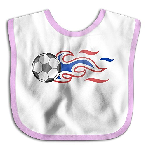 Soccer Clipart (Clipart Of A Soccer Ball With American Flag Baby Waterproof Bibs Water Resistant Drooler)