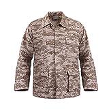 Rothco Rothco Bdu Shirt - Desert Digital, Large