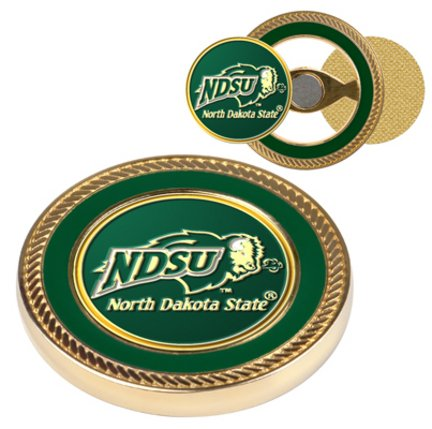 - North Dakota State Bison Challenge Coin with Ball Markers (Set of 2)