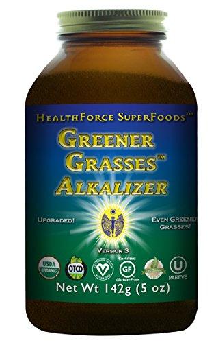 HealthForce SuperFoods Greener Grasses Alkalizer 5 Ounces Powder by HEALTHFORCE SUPERFOODS