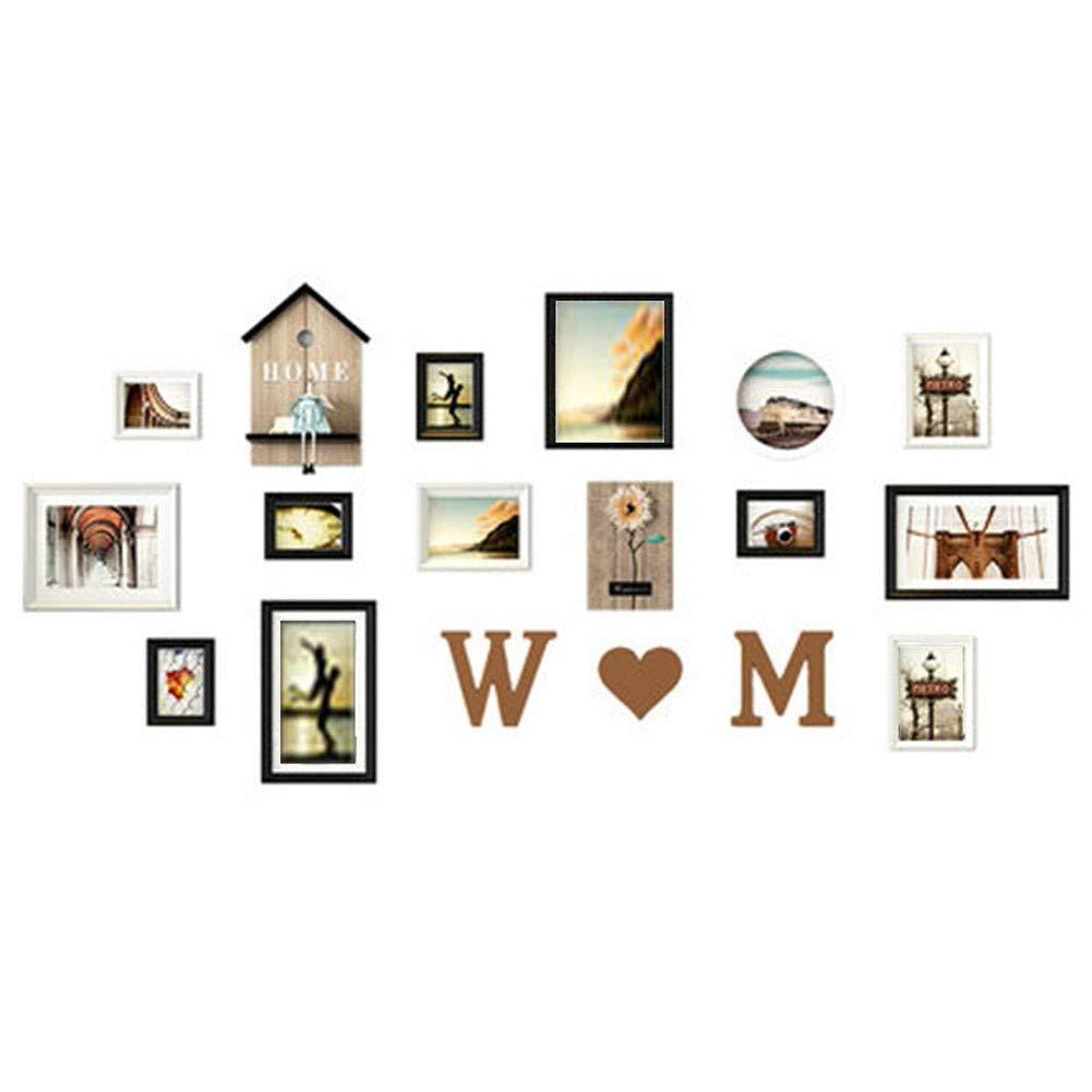 Fotorahmen TONGTONG SHOP Multi-Phase, European Solid Wood Bedroom Combination (19594 cm), 13 Per Package