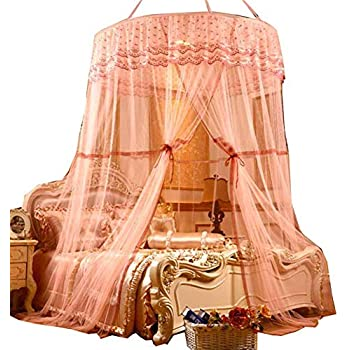 Poppap canopy mosquito net for twin bed queen - King size canopy bed with curtains ...
