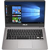 "ASUS ZenBook Ultra-Slim Laptop - 14"" FHD IPS WideView Display, Intel Core i7-8550U CPU, 8GB DDR4, 128GB SSD + 1TB HDD, Windows 10, Backlit keyboard, 3.1lbs, Quartz Grey - UX410UA-AS74"