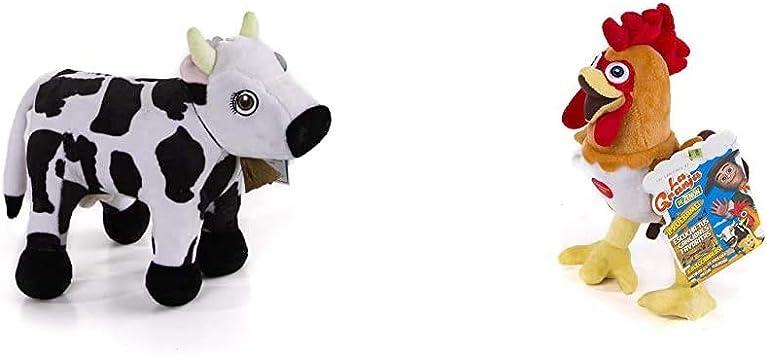 La Granja de Zenón - Mini Peluche Musical Vaca Lola: Amazon.es ...