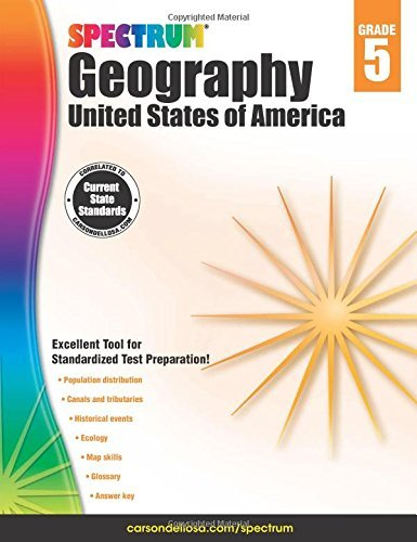 Spectrum Geography, Grade 5: United States of America ()