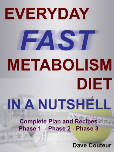 Everyday Fast Metabolism Diet In A Nutshell: Complete Plan and Recipes: Phase 1 - Phase 2 - Phase 3 (English Edition)