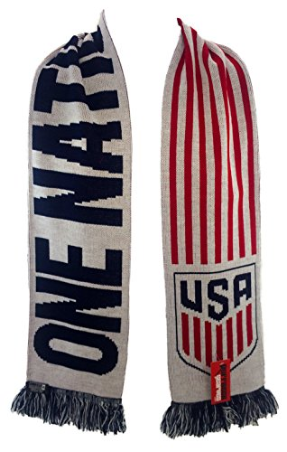Official US Soccer Scarf - One Nation One Team
