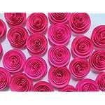 Fuchsia-Paper-Flowers-Set-of-24-Bulk-Hot-Pink-15-Roses-Lot-Girl-Nursery-Ideas-Baby-Shower-Decor-Wedding-Reception-Table-Scatter