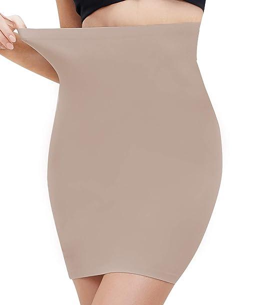 COMFREE Falda para Mujer Shapewear Moldeadora el Control de ...