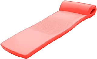 "product image for Texas Recreation Ultimate Swimming Foam Pool Floating Mattress, Coral, 2.25"" Thick"