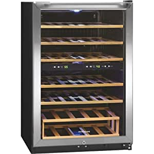Frigidaire 38 Bottle Two Zone Stainless Steel Wine Cooler