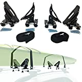 Car Rack & Carriers Universal Saddles Kayak Carrier Canoe Boat. Surf Ski Roof Top Mounted on Car SUV Crossbar