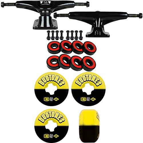 アサー幅犬テンソルスケートボードキット5.25 Trucks Ricta Duoトーン53 mm 98 a Wheels Abec 5