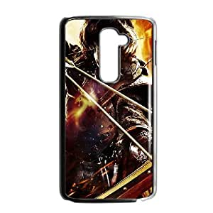LG G2 Cell Phone Case Black Dragons Dogma 5 JNR2224381