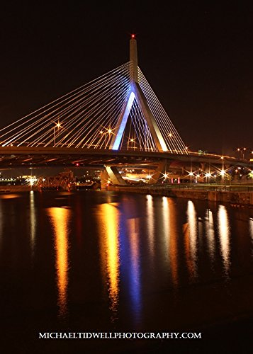 Leonard P. Zakim Bunker Hill Memorial Bridge Reflection Two 16