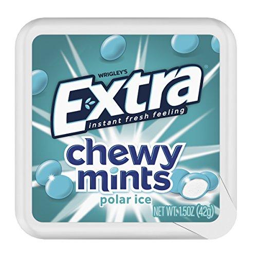 Extra Chewy Mints Polar Ice, 1.5 Oz