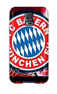 Tom Lambert Zito's Shop New Style Tpu Fashionable Design Bayern Munchen Fc Rugged Case Cover For Galaxy S5 New