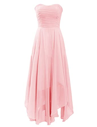 Diyouth elegant short v neck lace casual party cocktail bridesmaid dress