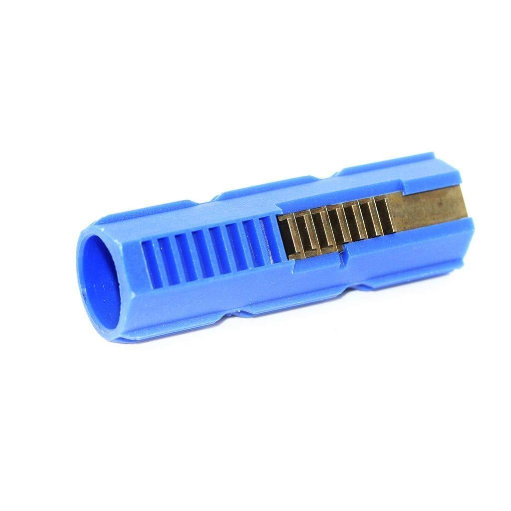Airsoft Softair SHS 15 Z/ähne Kolben Piston Blau 7 Stahlz/ähne