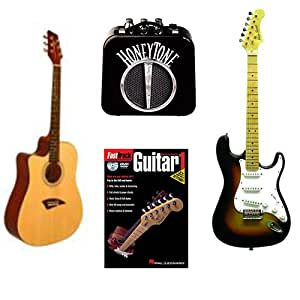 acoustic electric guitars beginner pack left handed acoustic dreadnought cutaway. Black Bedroom Furniture Sets. Home Design Ideas