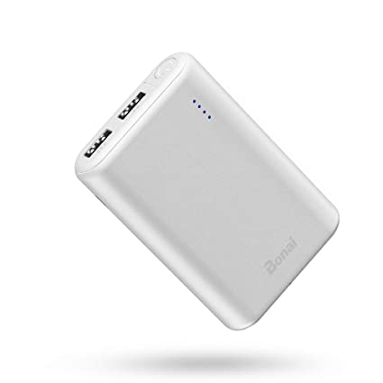 BONAI Portable Charger 7800mAh, Powerful External Battery Pack,Ultra-Compact High-Speed Charging Technology Power Bank Perfect Carry for Travel ...
