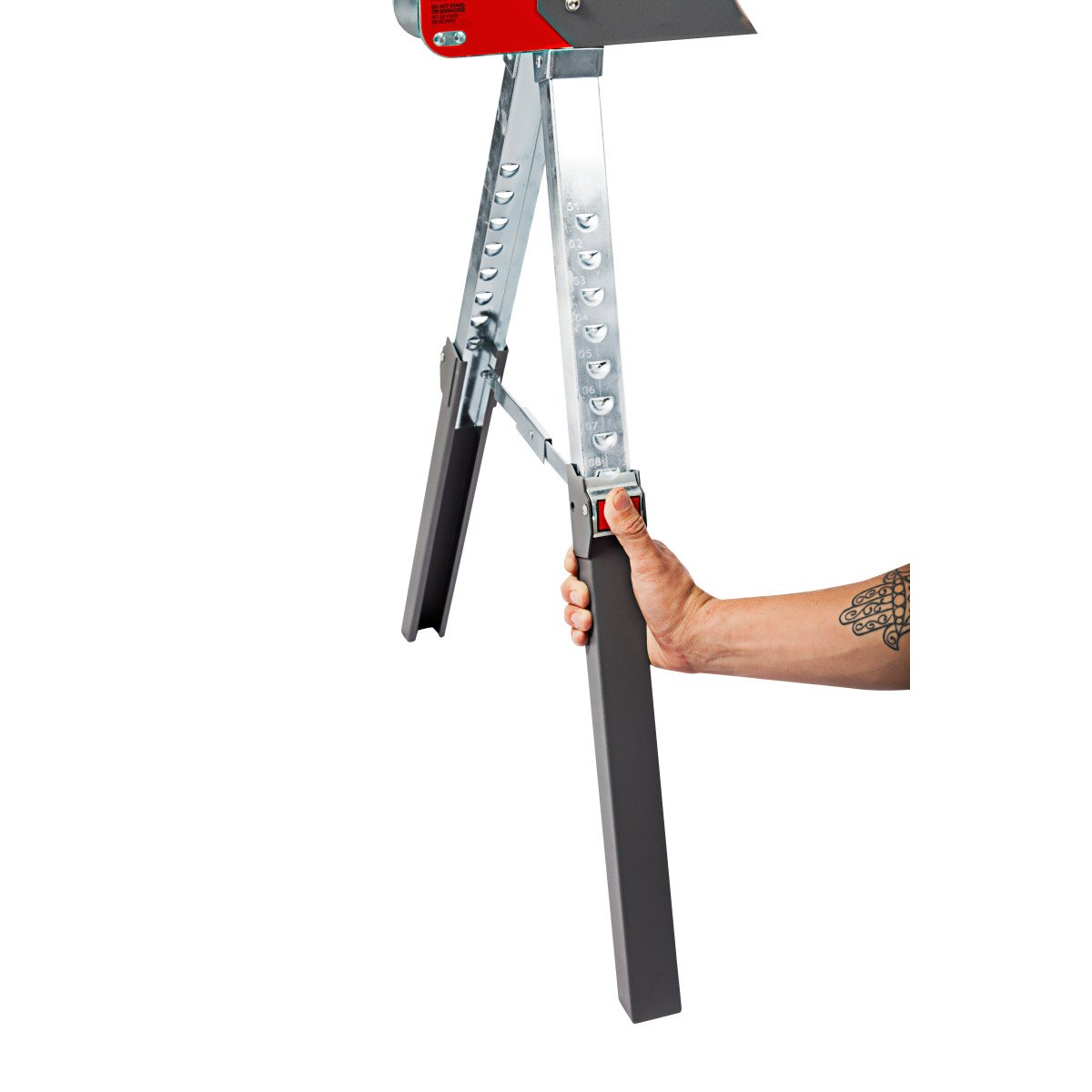 Protocolo equipo 93199 aplanadora de altura ajustable caballete ...