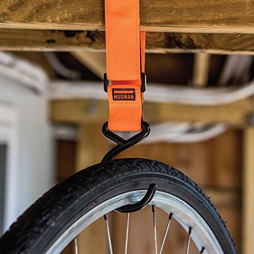 Hudman Works Strap & Hook XL, Bright Orange, 50'' by Hudman Works (Image #2)