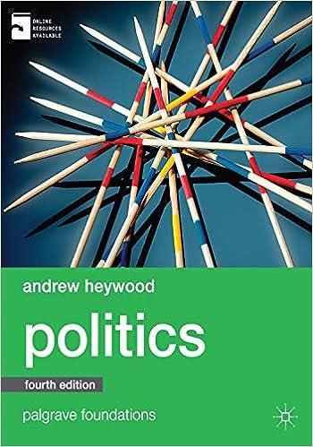 Amazon Com Politics 9780230396357 Heywood Andrew Books