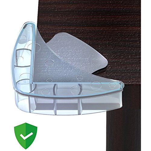 Mekudos Corner Guards - Baby Proofing - Clear