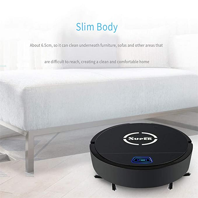 Amazon.com - HowLoo Robot Vacuum Cleaner Smart Auto Robotic ...