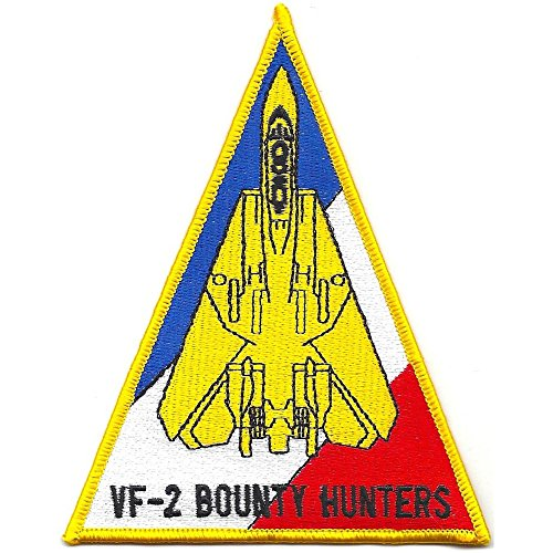 F-14 Tomcat Squadron Patch VF-2 Bounty Hunters Triangle