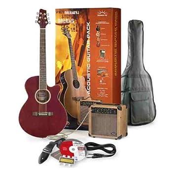 Stagg sw206 de tr P3 Guitarra electroacústica + Amplificador Pack ...