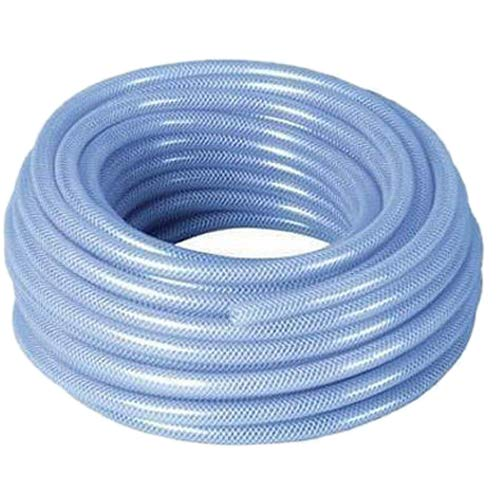 3//8 Nominal Size 200 psi Pacific Echo 410-0.375x300 PVC Spiralite 410 Clear Braided Tubing 49//128 Hose ID 300 Length 5//8 Hose OD