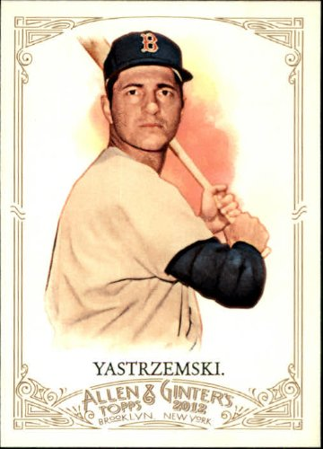2012 Topps Allen & Ginter Baseball Card #118 Carl Yastrzemski Near Mint/Mint