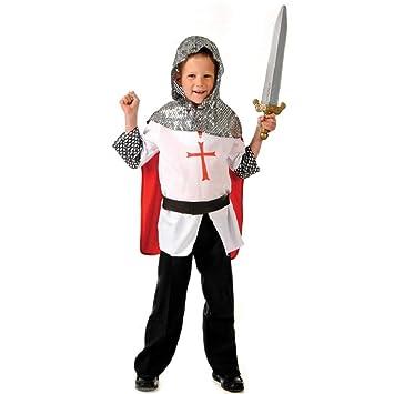 Boys Toys - Disfraz de caballero para niño, talla 3-5 años ...