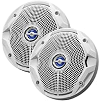 JBL MS6520 180W, 6.5 Coaxial Marine Speakers - (Pair) White - 1 Year Direct Manufacturer Warranty