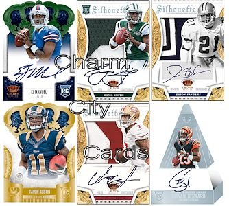 2013 Panini Crown Royale Football box 4 pk
