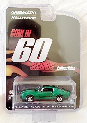 Limited Edition GREEN MACHINE Chase Piece 1967 Ford Mustang