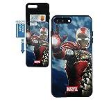 iphone 5 case iron man - [iPhone 7 Plus Wallet Case / iPhone 8 Plus Wallet Case] KUBRICK Card Holder Slide Cover Bumper Phone Case Dual Layer Protection DC Marvel UV Printing (Iron Man, Mark 5)