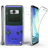 TriMax Galaxy S8 Case, Ultra Slim Transparent Clear Hybrid Shock Absorbing Scratch Resistance With Full Body Protection Built In Screen Protector Flexible Gel Phone Cover Game Controller Boy Review