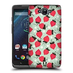 Head Case Designs Strawberry Fruit Prints Hard Back Case for Motorola Moto G (1st Gen)