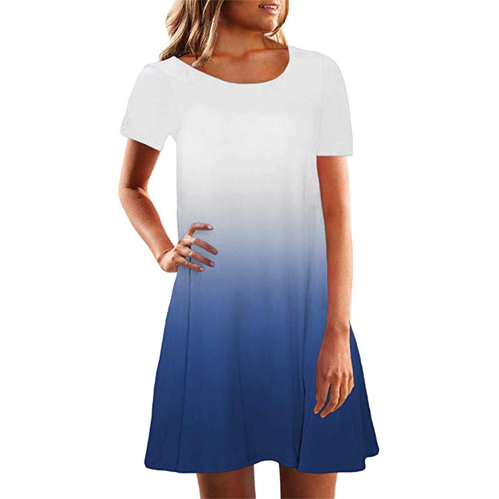 Stillkeid Umstandskleid /Ärmellos Streifen Stillkleid Schwangerschafts Kleid Mode Rundhals Still-Nachthemd Stillen Kleid Umstandsmode Frauen Damen Kleid Sommer Damen Kleider Nachthemd Kleider