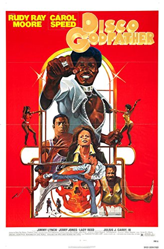 Disco Godfather  Movie Poster Rudy Ray Moore 24x36