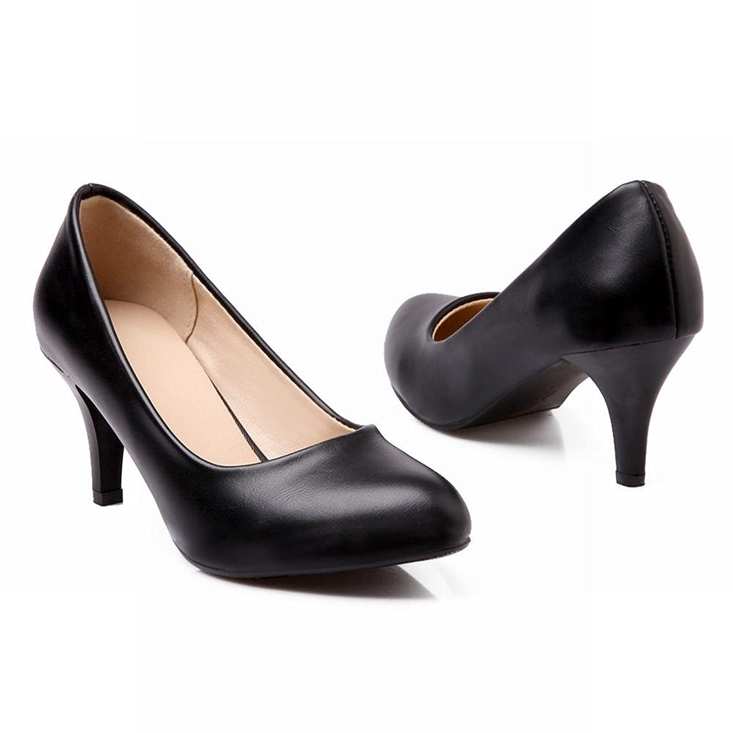 Carol Shoes Women's Western Concise High Heel Stiletto Court Shoes:  Amazon.co.uk: Shoes & Bags